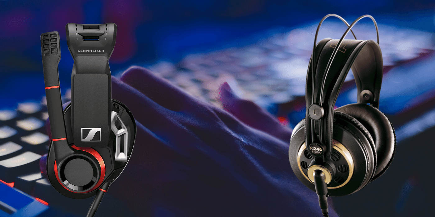 featured image for best open back gaming headphones article